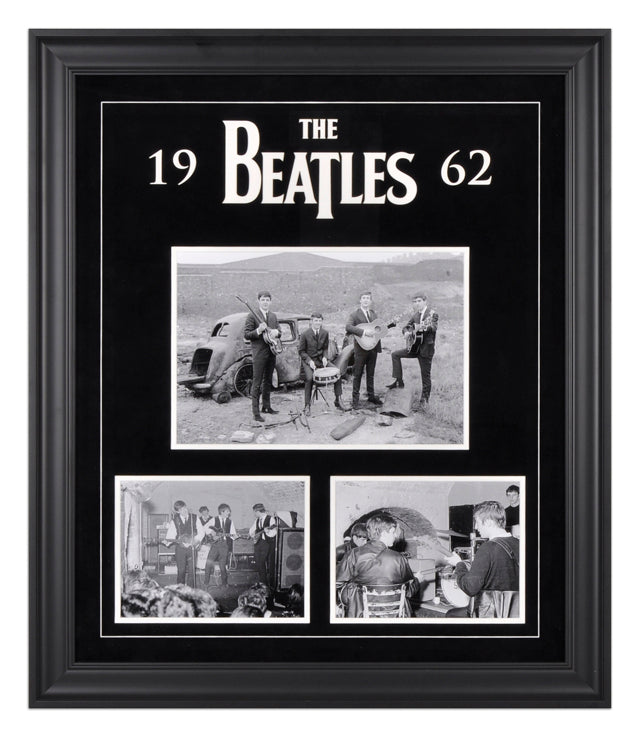 The Beatles 1962 Photo Collage