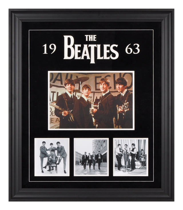 The Beatles 1963 Photo Collage