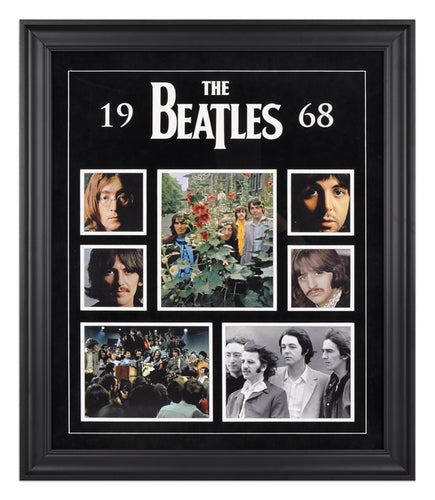 The Beatles 1968 Photo Collage