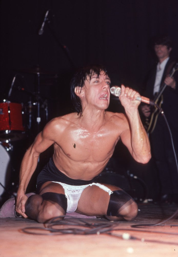 Iggy Pop Sweats For the Music