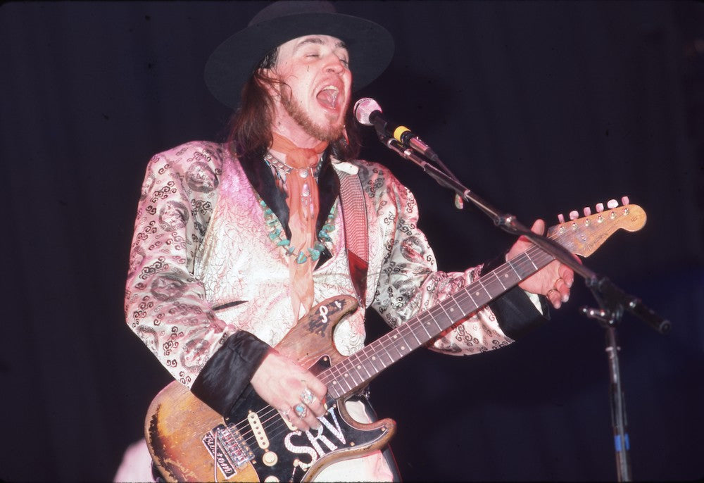 Stevie Ray Vaughan Screams His Heart Out