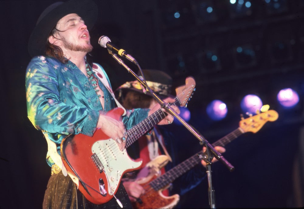 Stevie Ray Vaughan Rocking Out