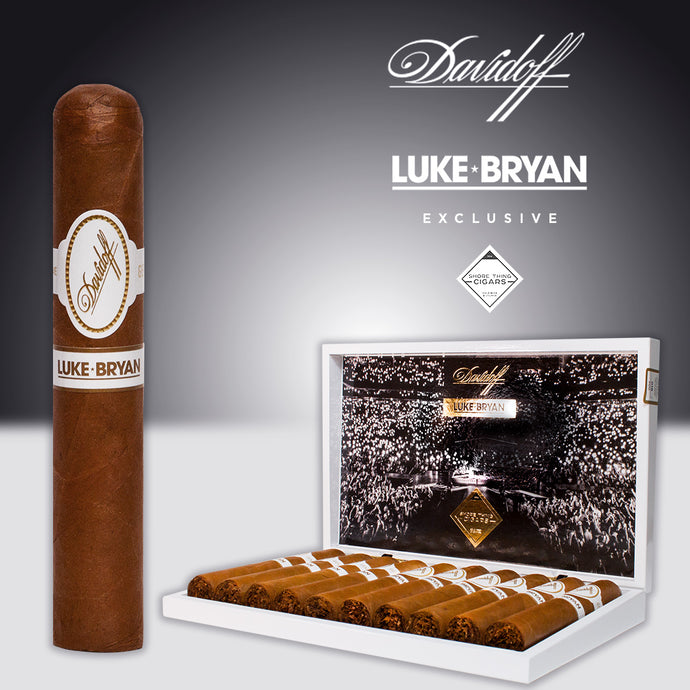 Luke Bryan Exclusive Davidoff Gran Robusto - Shore Thing Cigars