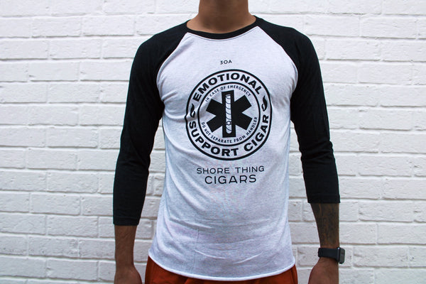 Emotional Support Cigar Baseball Shirt