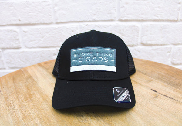 Rectangle Trucker Patch Cap
