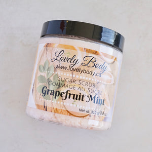 Grapefruit Mint Sugar Scrub
