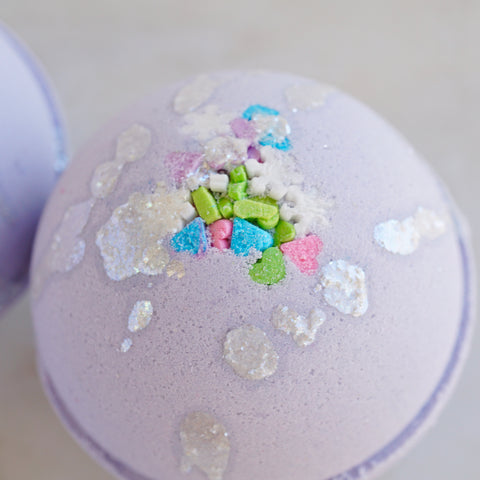 LED Snow Fairy Vegan Bath Bomb - Water Reactive Flashing LED Light
