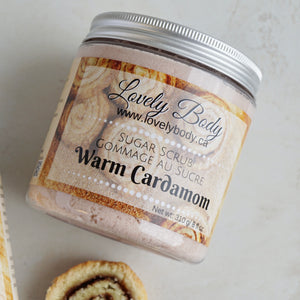 Warm Cardamom Sugar Scrub