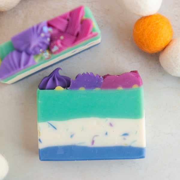 Ugly Sweater Cold Process Soap - Mistletoe Scent