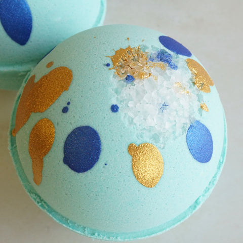 Beachside Seaglass Vegan Bath Bomb