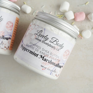 Peppermint Marshmallow Whipped Shea Butter