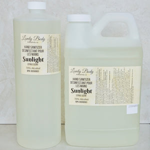 Sunlight Citrus Scented Hand Sanitizer REFILL - 70% Alcohol