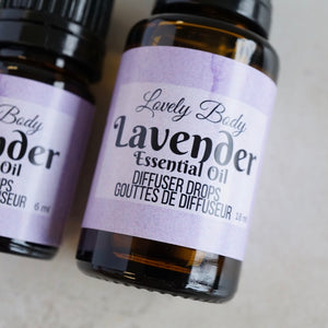 Lavender Diffuser Drops - Pure Essential Oil