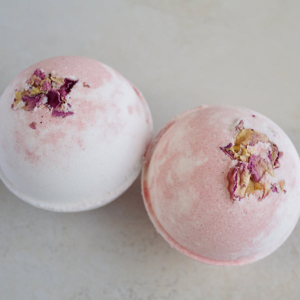 Rose Petal Gelato Vegan Bath Bomb