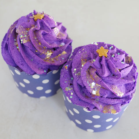 SALE Love Spell 2-in-1 Bath Cupcake - Bubble Bar Frosting and Bath Bomb Base