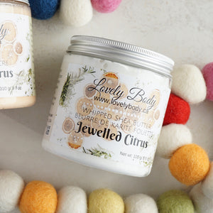 Jewelled Citrus Whipped Shea Butter