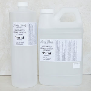Purist Unscented Hand Sanitizer REFILL - 70% Alcohol