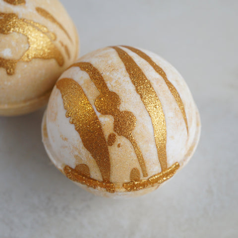Butterscotch Ripple Vegan Bath Bomb