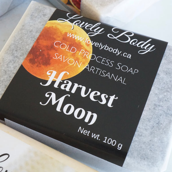 Harvest Moon Cold Process Soap