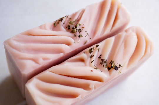 Pink Mint Cold Process Soap