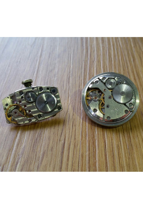 Watch Movement Brooch.
