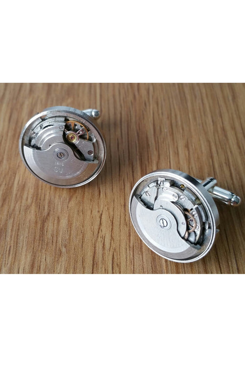 Self Winding Watch Movement Cufflinks