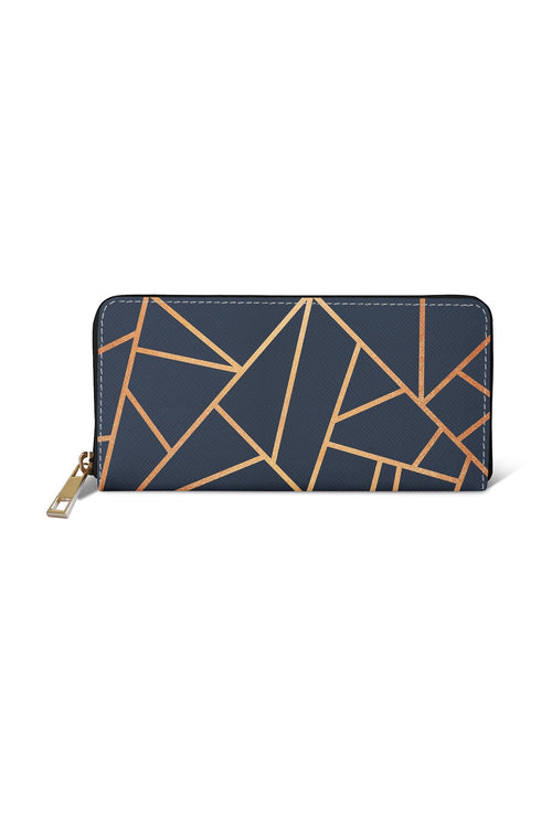 'Copper & Midnight Navy' Purse