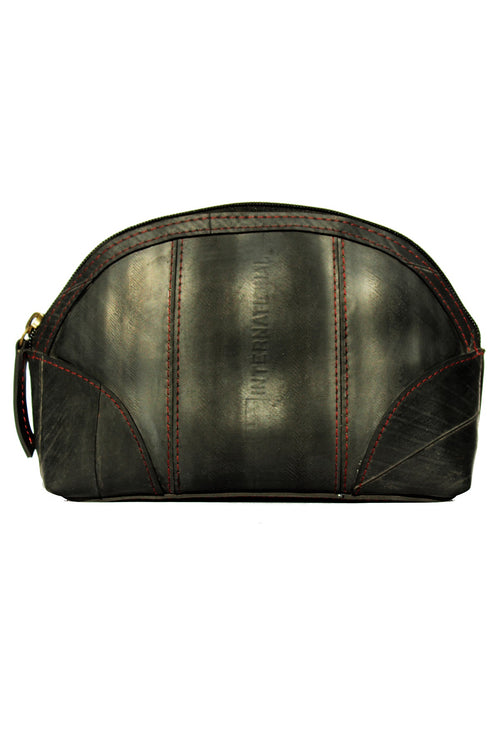 The Pearl Jam Upcycled Innertube Make Up Bag