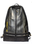 The Black Flag upcycled Inner Tube Travel Backpack