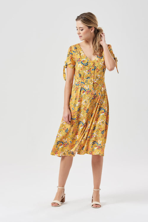 Holly Floral Tea Dress
