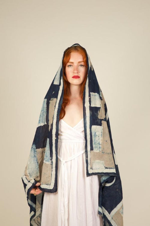 Moon Phase Oversized Scarf
