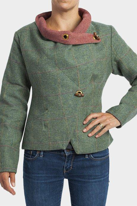 Finch Green Tweed Jacket