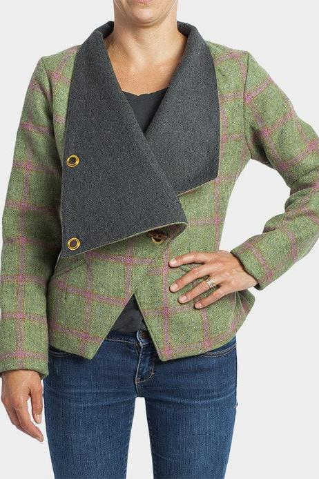 Griffin Green Tweed Jacket