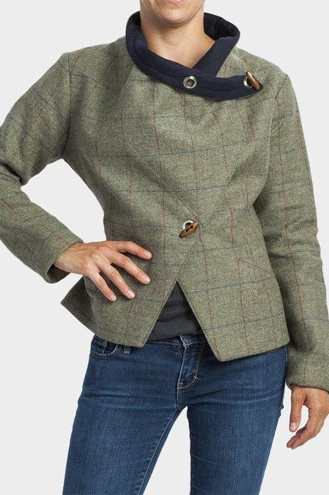 Heath Green Tweed Jacket