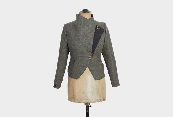 Plover Grey Tweed Jacket