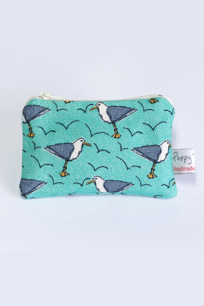 Cheeky Seagul Print Useful Purses