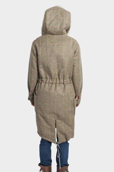 Tweed Parka Coat