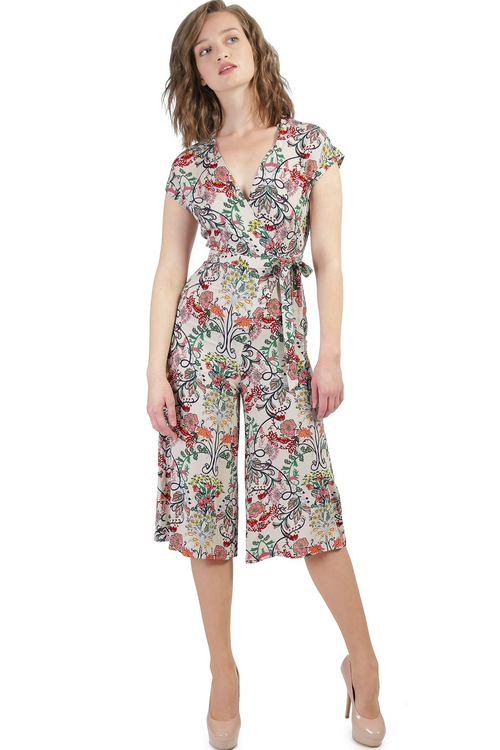 Bright & Beautiful Jodie Floral Jumpsuit