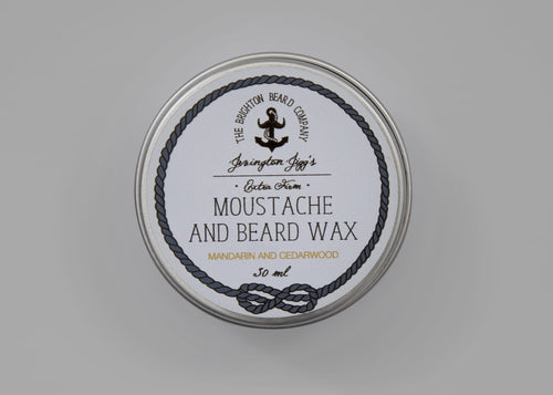 The Brighton Beard Company - Moustache and Beard Wax