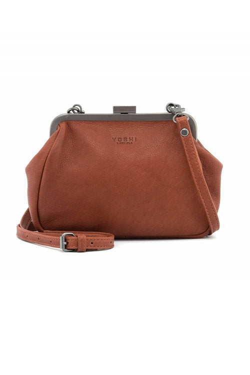 Tesla Leather Cross Body Bag