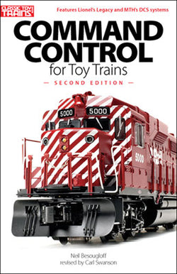 Kalmbach 108395 Classic Toy Trains, Command Control for Toy Trains, Second Edition