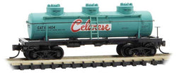 Micro-Trains Line 066 00 140 N 3-Dome Tank Car, Celanese, GATX, 1404