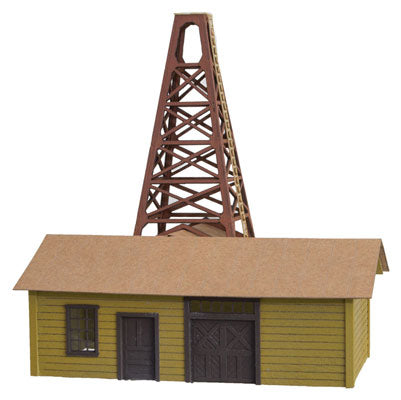 Micro-Trains Line 499 90 976 N Pump House Kit, Laser Cut Wood Kit
