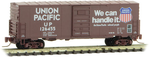 Micro-Trains Line 503 00 191 Z Scale, 40' Standard Box Car, Single  Door, UP, 126455