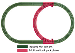 Lionel 6-12028 O, FasTrack Inner Passing Loop Pack