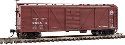 Walthers Mainline 910-40573 HO 40' Single Sheathed Box Car, Murphy Ends, SP, 26684