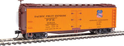 Walthers Mainline 910-41216 HO 40' Early Wood Reefer Car, PFE, 31928