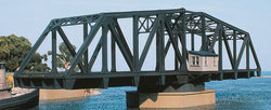 Walthers 933-3088 HO Cornerstone, Double Track Swing Bridge, Plastic Kit