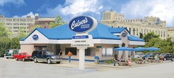 Walthers 933-3486 HO Culver's (4 Colors and Clear Plastic)