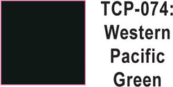 Tru Color TCP-74 Western Pacific Green Paint 1 ounce